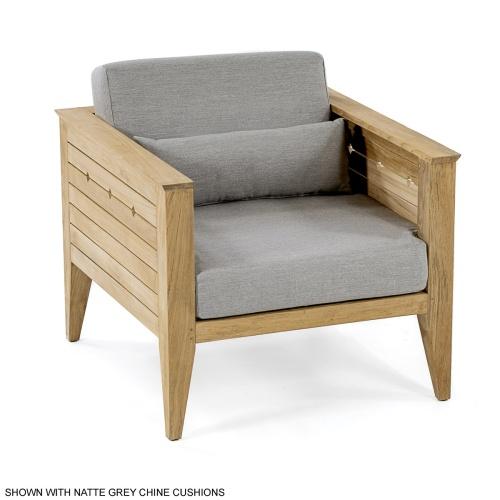6 pc Craftsman Armchair Firepit Seating Set