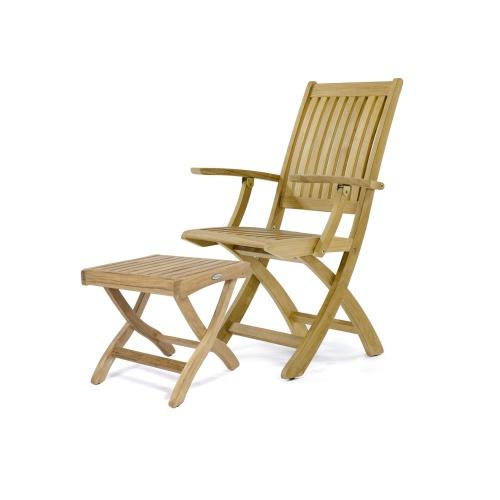 folding teak outdoor chairs
