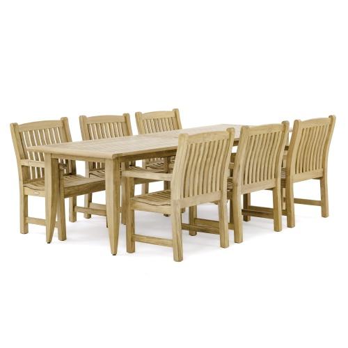 Rectangular Extension Dining set