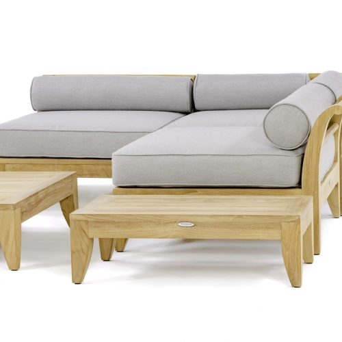 teak outdoor sofas chairs & sectionals