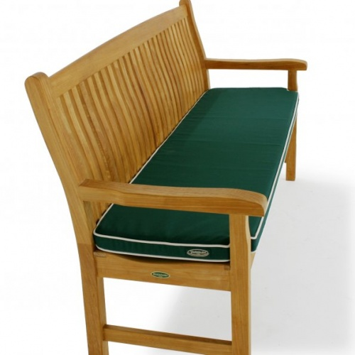4 ft teak bench cushions