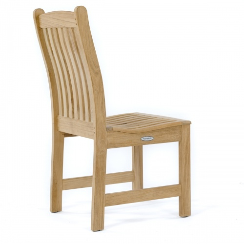 Outdoor Teak Side Chairs