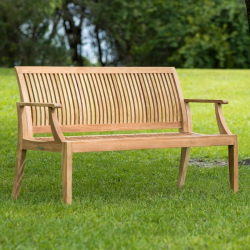 Outdoor Teak Wood Bench