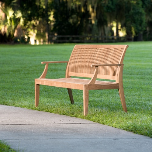 Teak Wood Bench For Sale