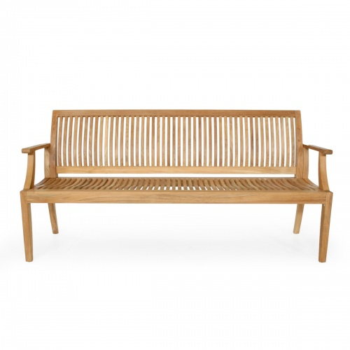 outdoor teak benches
