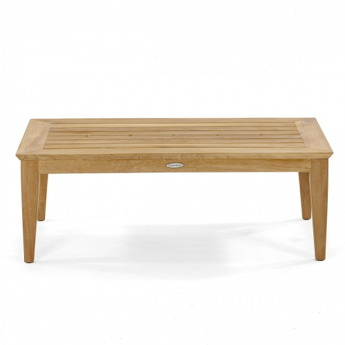 teak modern indoor coffee table