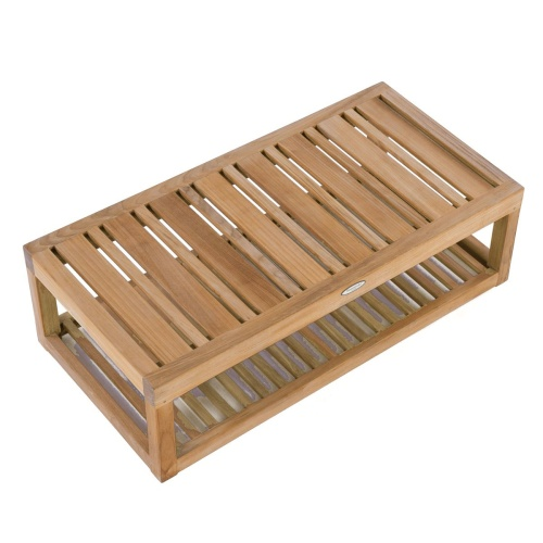 teak wood outdoor end tables