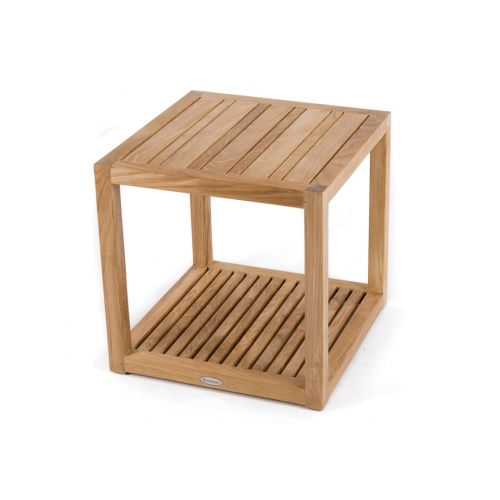 Bathroom Teak Side Table