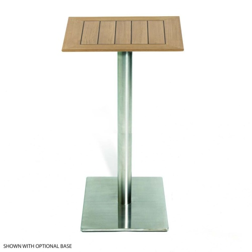 Wooden Square Bar Table