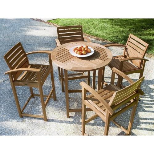 teak bar set garden indonesia