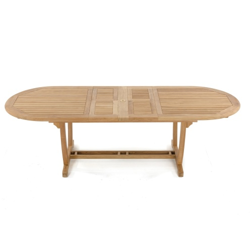 grade a teak extension table