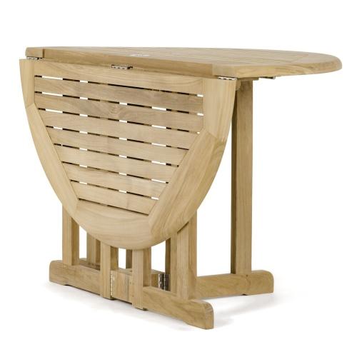 Folding Table Half
