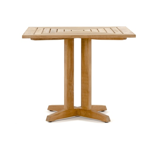 Outdoor Bistro Set Teak