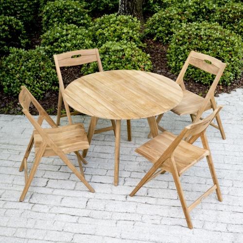 Wooden Round Deck Table