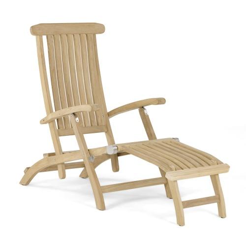 Outside teakwood steamer chairs