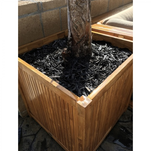 commercial teak planter