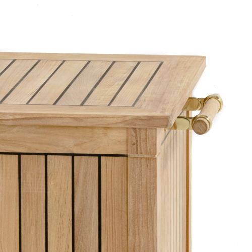 Patio Storage Box Teak