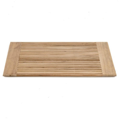 Pacifica Teak Bath Mat