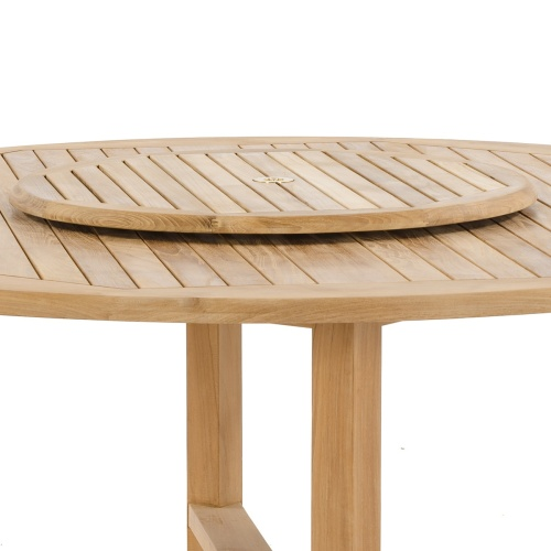 Teak Wooden Lazy Susan