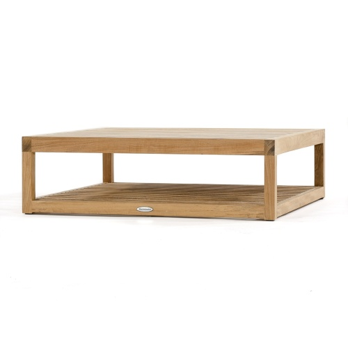 coffee table solid teak wood