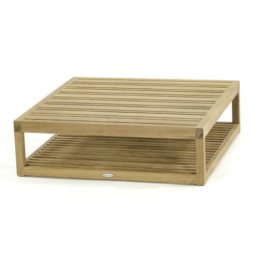 teak patio ottoman footrest