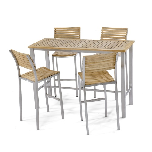high bar outdoor table dining set