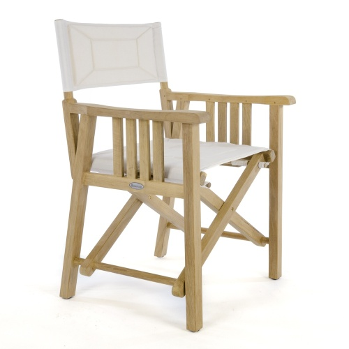 teak director chair