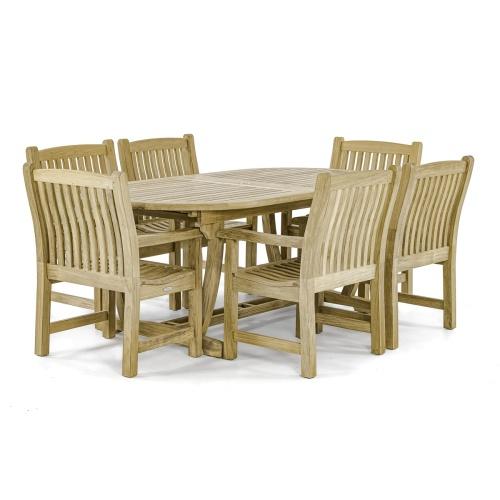 best teak wood outdoor patio sets