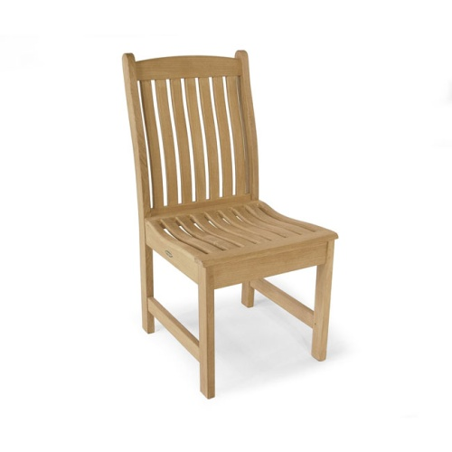 veranda teak side chair