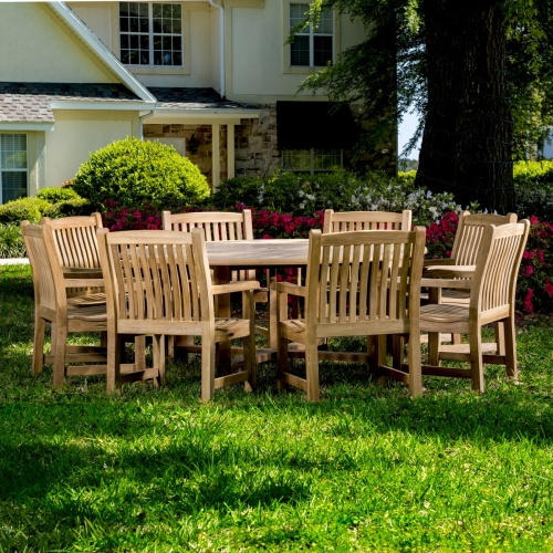 outdoor round patio sets for 8