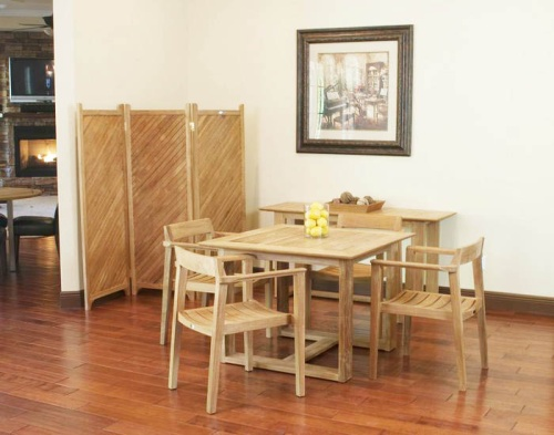 Bistro Dining Wooden set for 4