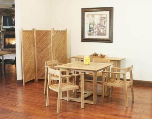 Bistro Dining Wooden set for 4
