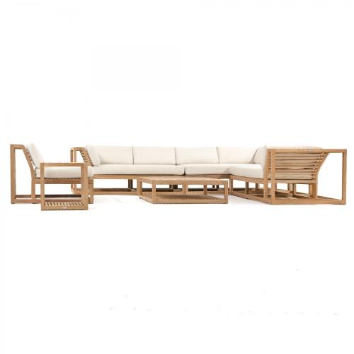 Maya teak deep seating furniture