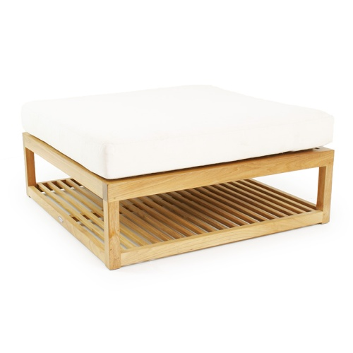 Teak Chaise Daybed Frame