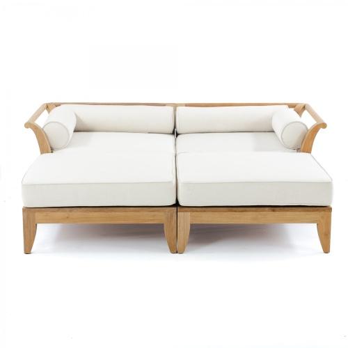 teak wooden day bed
