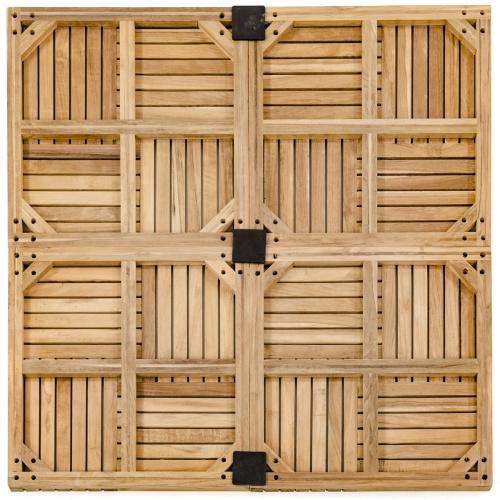 Hardwood Teak Flooring Tiles