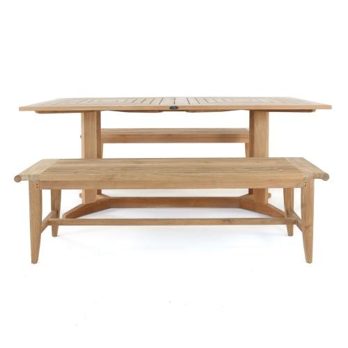 teak picnic table sets