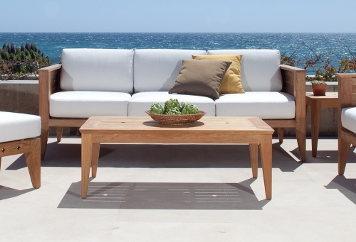 teak wood couch from indonesia