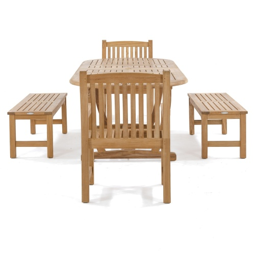teak picnic bench table set