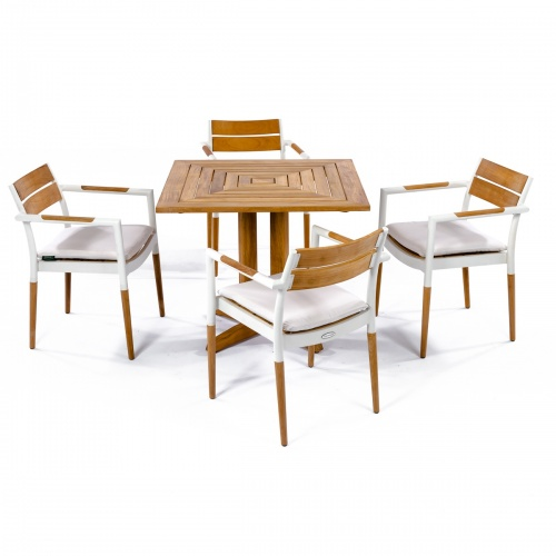 outdoor stacking bistro set