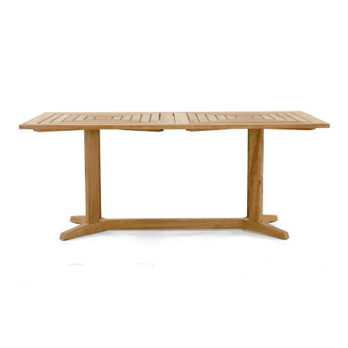 teak 72 wood  banquet rectangular table