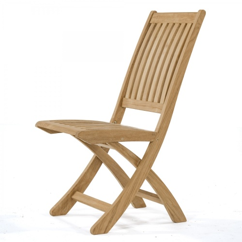 teak wood folding outside chair