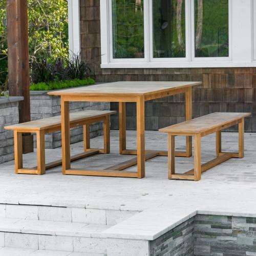 teak interesting picnic table