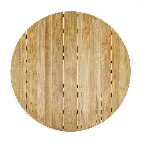 Round Teak Garden Tables