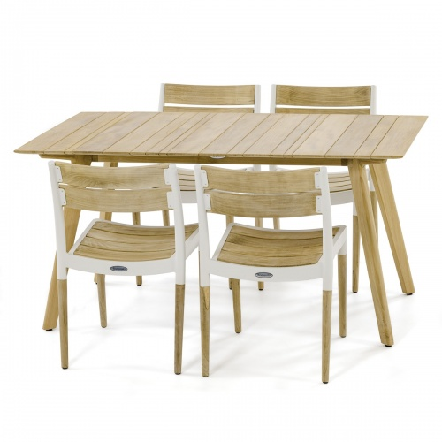 Surf 5 piece Dining Set