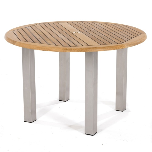 outdoor furniture teak dining table