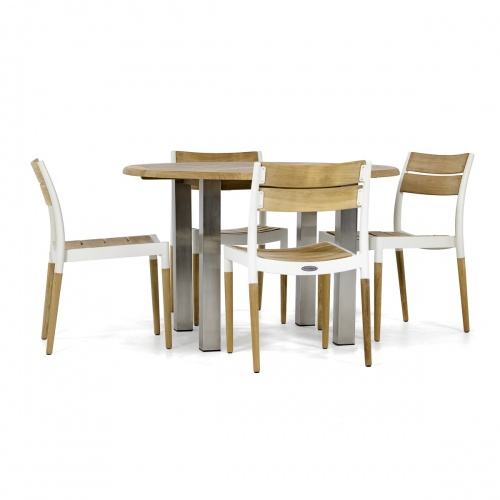 round patio dinette set 4