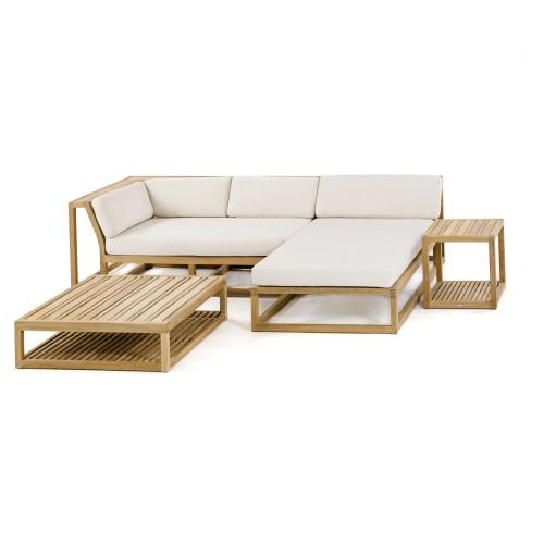 teak modular outdoor furniture