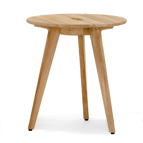 side table teak outdoor