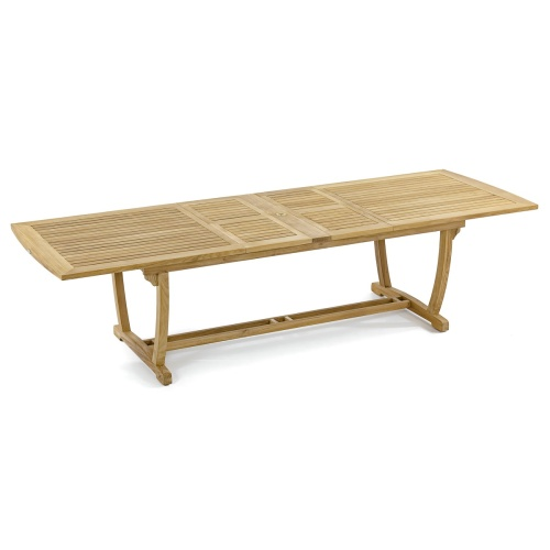 premium extension wood table